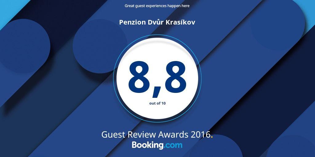 Hodnocení Booking award